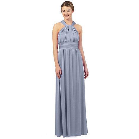 Debut Pale blue multiway evening dress | Debenhams