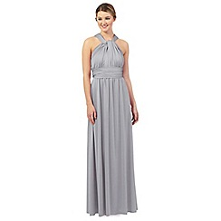 Debut - Pale grey multiway evening dress