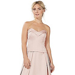 Debut - Light pink 'Blaire' bustier top