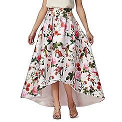 Debut - Multi-coloured floral print skirt
