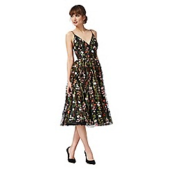 Debut - Multi-coloured floral midi dress