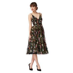 Debut Multi-Coloured Floral Midi Dress