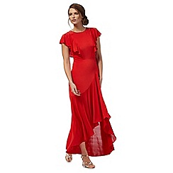 Debut - Red ruffle dress