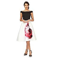 Debut - Multi-coloured 'Miami' prom dress