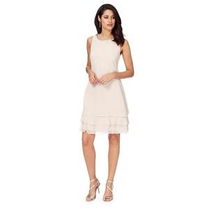 Debut Pale pink 'Rochelle' shift dress