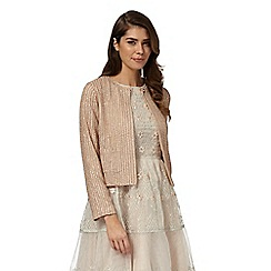 No. 1 Jenny Packham - Pink beaded jacket