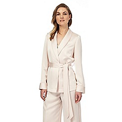 No. 1 Jenny Packham - Pink 'Burlington' formal jacket