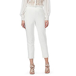 Siren by Giles - Ivory 'Clara' tapered trousers