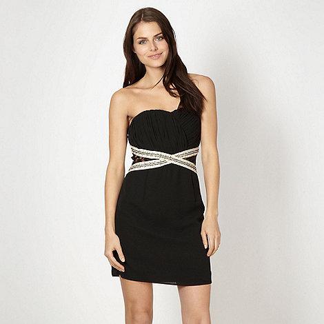 Diamond by Julien Macdonald - Designer black lace cut out dress
