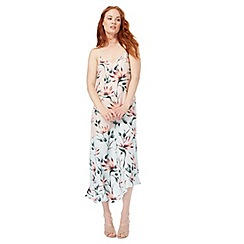 Nine by Savannah Miller - Pink floral print maxi dress