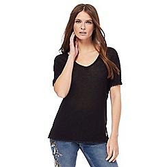 Nine by Savannah Miller - Black jersey t-shirt