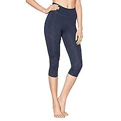 Nine by Savannah Miller - Blue cropped leggings