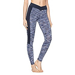 Nine by Savannah Miller - Blue space stripe leggings