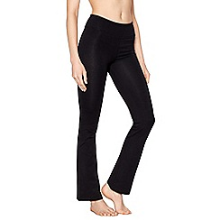 Nine by Savannah Miller - Black bootcut yoga pants