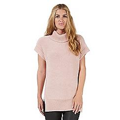 Nine by Savannah Miller - Pale pink tabard style jumper