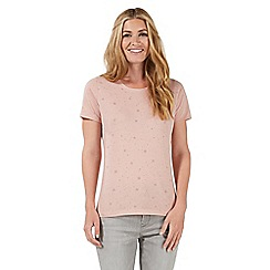 Nine by Savannah Miller - Pink star print t-shirt