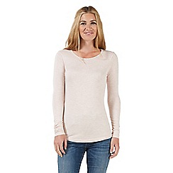Nine by Savannah Miller - Pale pink jersey top