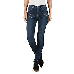 Nine by Savannah Miller - Petite dark blue skinny jeans