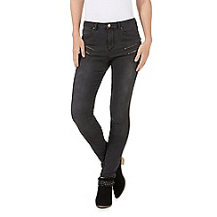 Nine by Savannah Miller - Petite grey skinny jeans