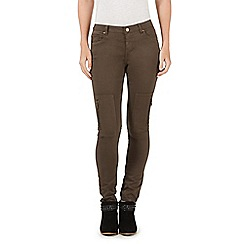 Nine by Savannah Miller - Khaki skinny cargo jeans