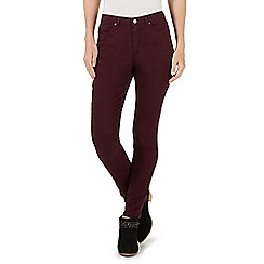 Nine by Savannah Miller - Dark red skinny jeans