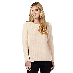 Nine by Savannah Miller - Light pink metallic jumper