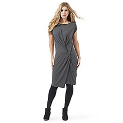Nine by Savannah Miller - Dark grey jersey dress