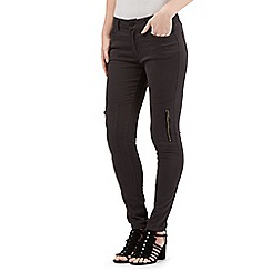 Nine by Savannah Miller - Grey skinny cargo jeans