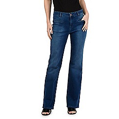 Nine by Savannah Miller - Blue wide leg jeans