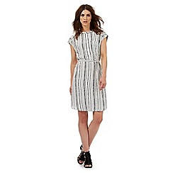 Nine by Savannah Miller - White arrow print dress