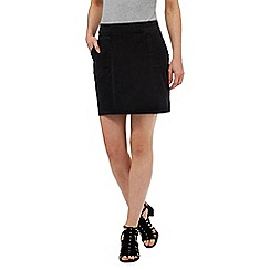 Nine by Savannah Miller - Dark grey denim skirt