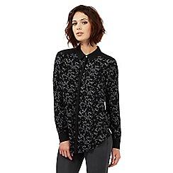 Nine by Savannah Miller - Black star print shirt