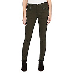 Nine by Savannah Miller - Khaki green skinny cargo jeans
