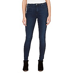 Nine by Savannah Miller - Blue high-waisted skinny jeans