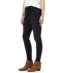 Nine by Savannah Miller - Black high-waisted skinny jeans