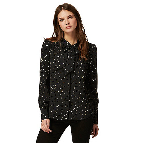 Nine by Savannah Miller - Black pussybow blouse