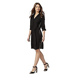 Nine by Savannah Miller - Black shirt dress