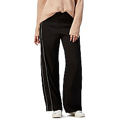 Nine by Savannah Miller - Black wide leg trousers