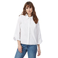 Nine by Savannah Miller - White button-down shirt