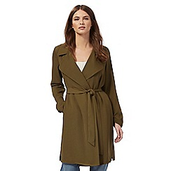 Nine by Savannah Miller - Khaki duster jacket