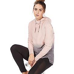 Nine by Savannah Miller - Pink and grey ombre-effect hoodie