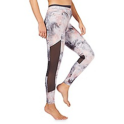 Nine by Savannah Miller - Multi-coloured marble printed legging