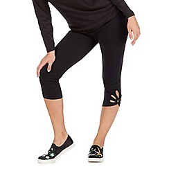 Nine by Savannah Miller - Black ankle detail legging