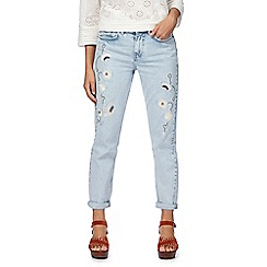 Nine by Savannah Miller - Light blue washed slim fit jeans