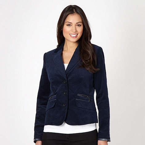 J by Jasper Conran - Designer navy mini cord jacket