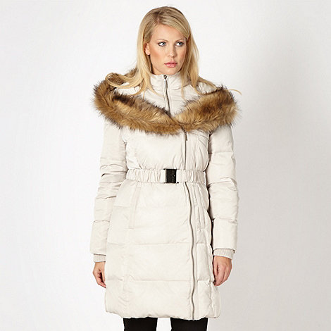 J by Jasper Conran - Designer white padded coat