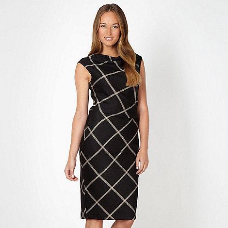 J by Jasper Conran - Designer black checked dress