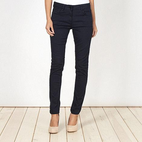 J by Jasper Conran - Designer navy skinny fit jeans