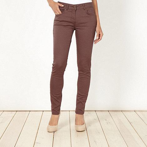 J by Jasper Conran - Designer taupe skinny jeans