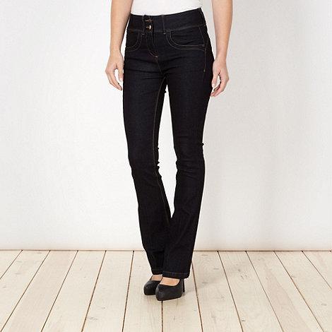 J by Jasper Conran - Shape enhancing blue bootcut jeans